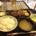 おすすめ!バンコク・プロンポン駅近の日本食「キッチン新潟」のランチセット。