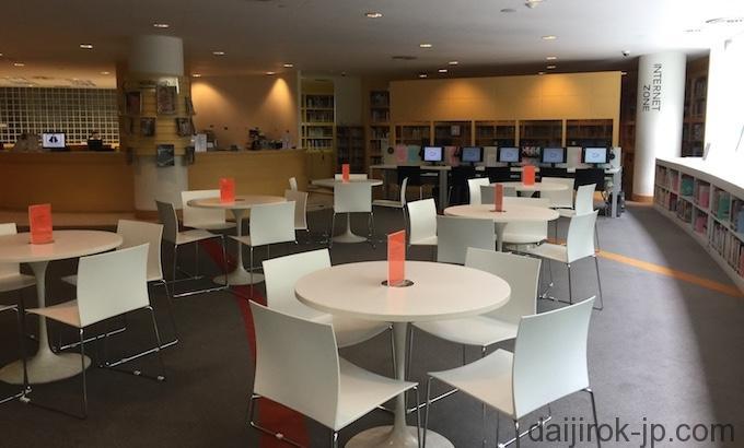 図書館管内の写真2
