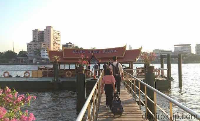 船着場の写真