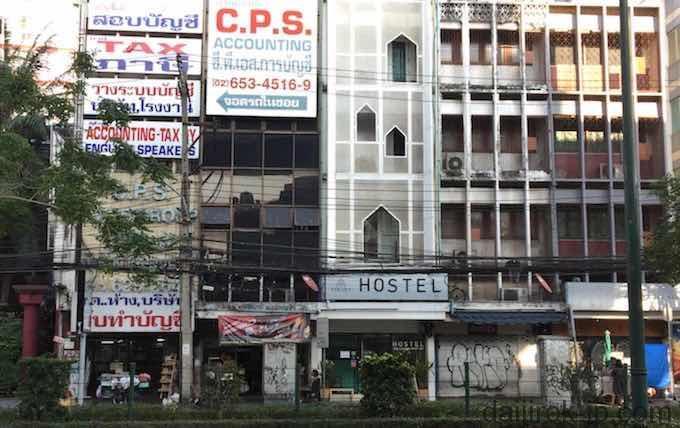 BTSパヤタイ駅付近のホステル